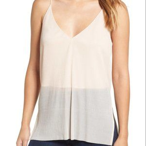 ASTR The Label Side Split Pleated Camisole Blush